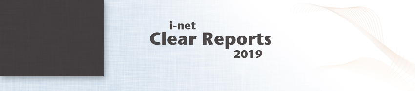 i-net Clear Reports. Your Reports. Your Device.